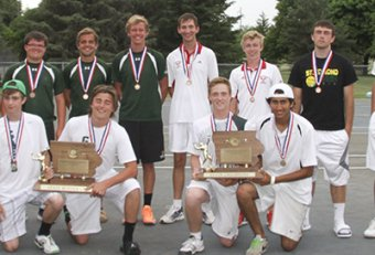 Iowa High School Tennis Rankings