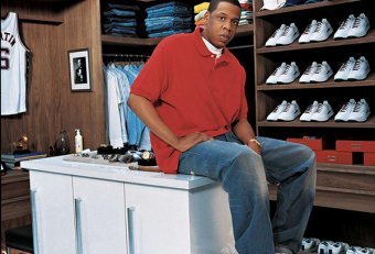 Jay-Z z tennis shoes