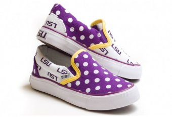 LSU tennis shoes