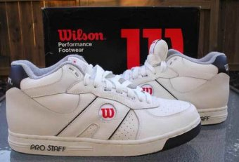 Old tennis shoes brands