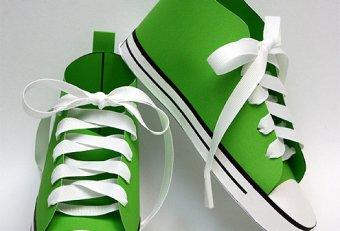 Paper Doll tennis shoes