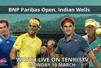 Tennis TV live Indian Wells