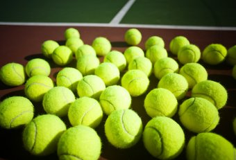 Used Open Tennis Balls used