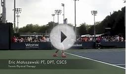 #1 Seed Alexander Zverev Slow motion point play US Open 2013
