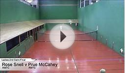 2015 Aust Open Ladies 2nd Semi Final Snell v McCahey