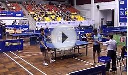 27 Table Tennis Champs: Amazing SOUTH KOREA vs INDIA [C3,4