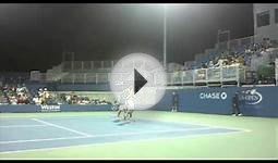 2011 us open tennis - Funny and Classy Gael Monfils in