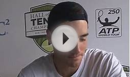 2014 Hall of Fame Tennis Championships - Round 2 Highlights