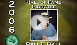 2006 Texas Tennis Hall of Fame Inductee - Ben T. Ball