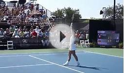 2011 Texas Tennis Open Match Point between Sabine LIsicki