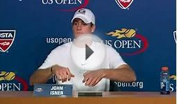 2009 US Open Press Conferences: John Isner (Third Round)