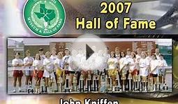 2007 Texas Tennis Hall of Fame Inductee - John Kniffen