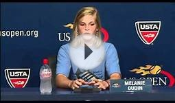 2010 US Open Press Conferences: Melanie Oudin (Second Round)