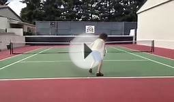 7-year-old hits tennis winner against Redfoo of LMFAO