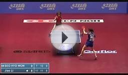 2014 World Table Tennis Championship: Seo Hyo Won vs Li Jiao