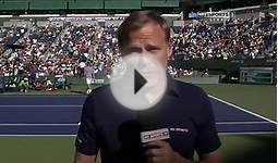 2014 Indian Wells Roger Federer vs Paul-Henri Mathieu