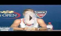 2009 US Open Press Conferences: Melanie Oudin (First Round)