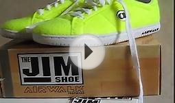 Airwalk Jim Tennis Ball Edition Retro 2010 Review Live!