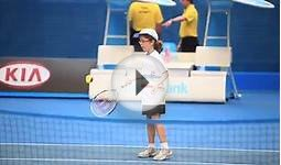 ANZ Tennis Hot Shots at Australian Open 2012