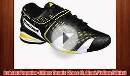 Babolat Propulse 4 Mens Tennis Shoes (9 Black/Yellow/White)