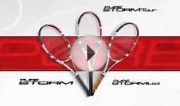 babolat tennis badminton paddle, rackets, shoes, wear