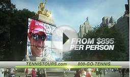 Championship Tennis Tours - US Open 2011 Commercial