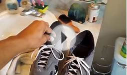 Cleaning white rubber on shoes (soles)