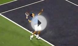 Coaching High School TennisFederer Serve, Recover, Cross