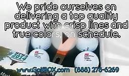 Custom Logo Golf Balls from GolfBOX.com - Corporate Gifts