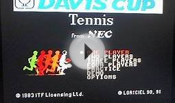 Davis Cup Tennis (TurboGrafx-16) - RetroStadium Ep.4 (Part
