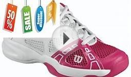 Discount Sales Wilson Rush Pro JR. Youth Tennis Shoe
