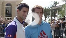 Djokovic, Murray, Nadal At Monte-Carlo Landmarks