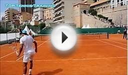 Djokovic & Wawrinka mini tennis exhibition in Monte Carlo 2015