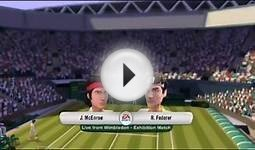 EA Sports Grand Slam Tennis Wii Gameplay