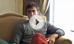 Ernests Gulbis interview in Latvian at Davis Cup in Egypt