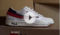 Fila Original Tennis Shoe Review + On Feet With @DjDelz