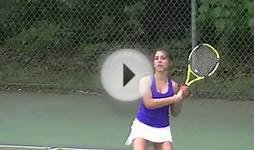 Girls Tennis Plainville Bristol Eastern 5-10-2012.mov