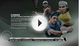 Grand Slam Tennis 2 - Career Mode 1st Match