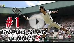 Grand Slam Tennis 2 Career Mode Walkthrough / Gameplay