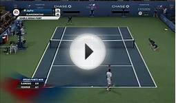 Grand Slam Tennis 2 (Djokovic Vs Federer) Online Ranked Match