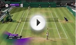 Grand Slam Tennis 2 | Online Multiplayer | Sharapova vs