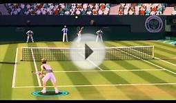 Grand Slam Tennis Online Singles Match (Match 1 of 2
