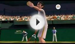 Grand Slam Tennis Trailer 2 Wii