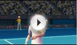 Grand Slam Tennis Wii courts video game play all 4 grand