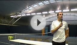 Greg Rusedski on slower tennis balls with elite juniors