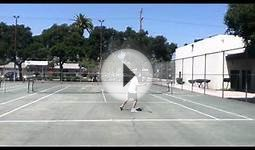 High School Tennis - Josh vs Ruben (4-22-12) (HD)