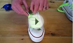 How to Checkerboard Lace Chuck Taylors