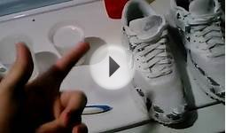 How to clean mesh on shoes