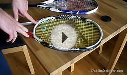 How to String a Squash or Tennis Racket