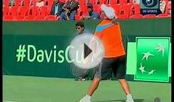 india v chinese taipei tennis game show with davis cup full hd